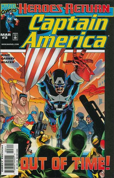 Captain America (1998) 3-A by Marvel
