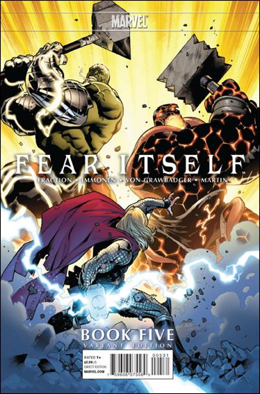 Fear Itself 5-B by Marvel