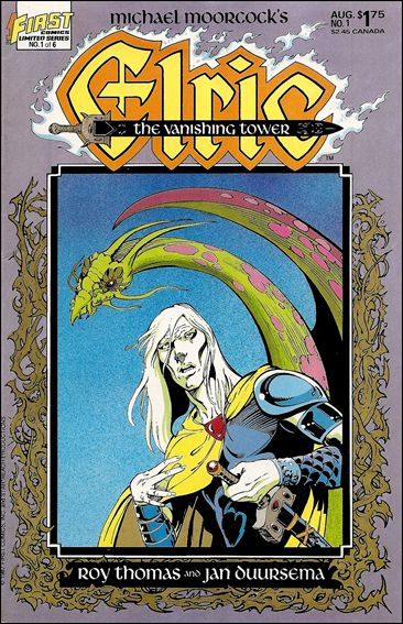 Elric: The Vanishing Tower 1-A by First