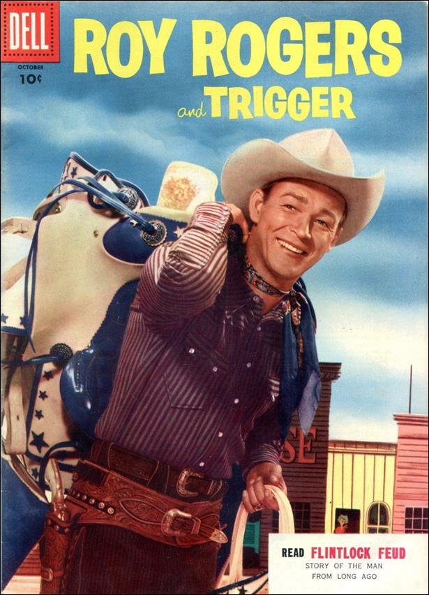 Roy Rogers Comics 94-A by Dell