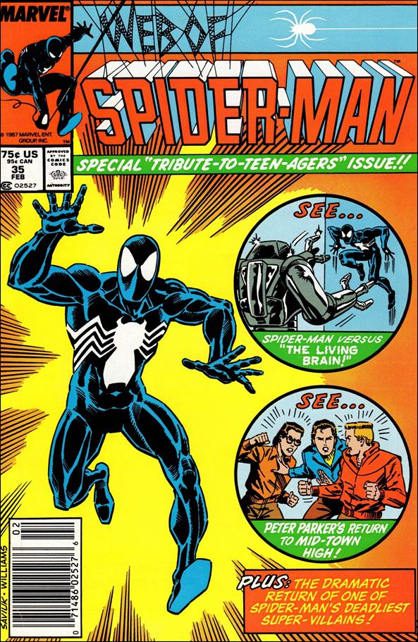 Web of Spider-Man (1985) 35-A by Marvel