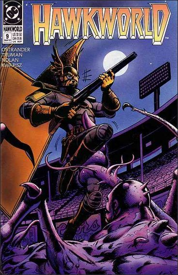 Hawkworld (1990) 9-A by DC
