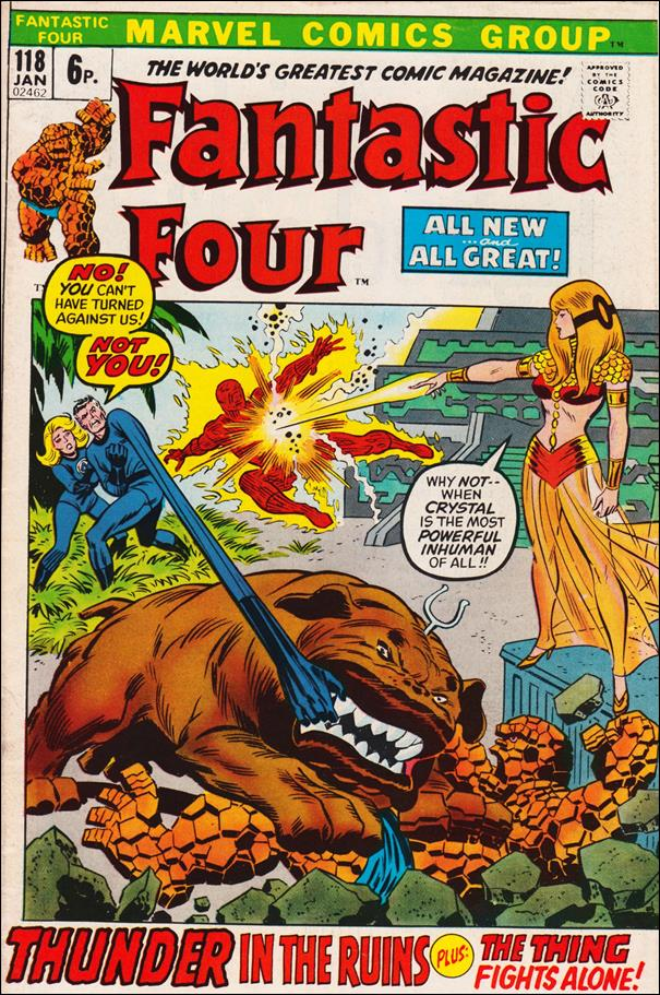 Fantastic Four (1961) 118-B by Marvel