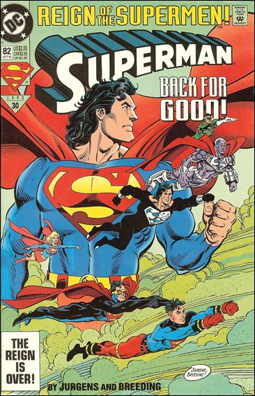 Superman (1987) 82-C by DC