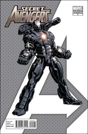 Secret Avengers (2010) 5-C by Marvel