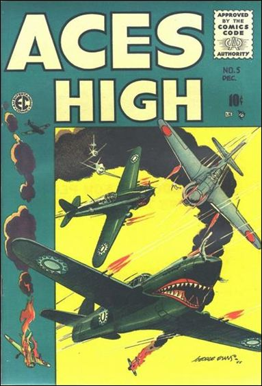 Aces High (1955) 5-A by E.C.