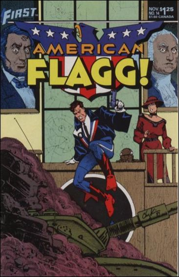 American Flagg! (1983) 14-A by First