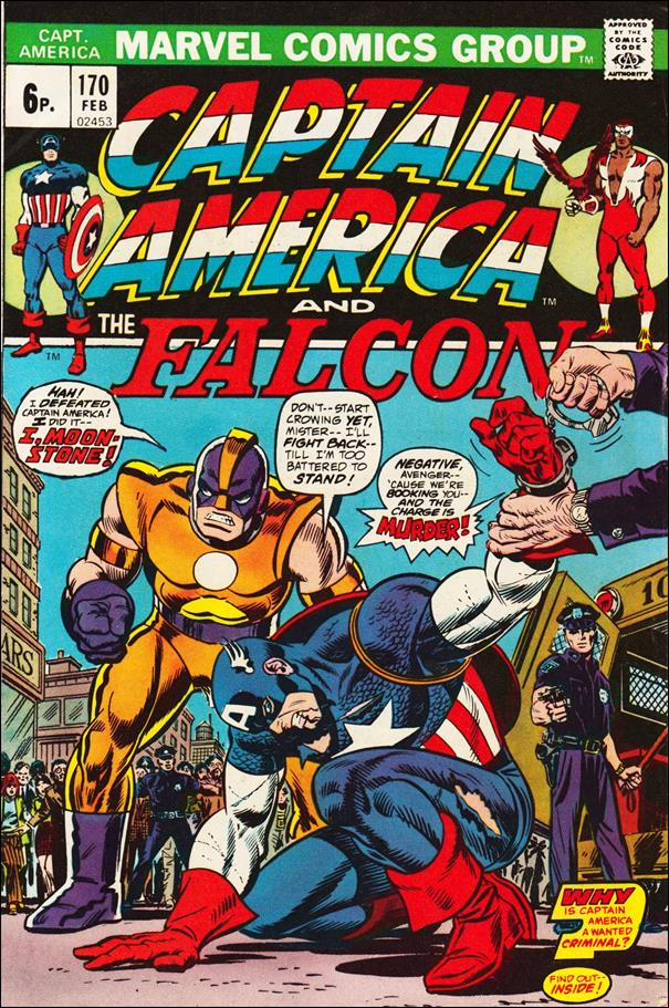 Captain America (1968) 170-B by Marvel