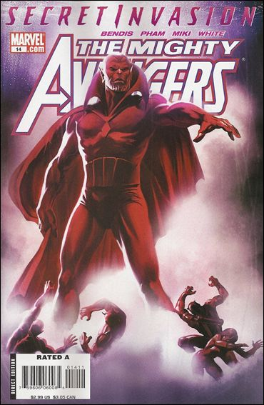 Mighty Avengers 14-A by Marvel