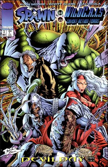 Spawn/WildC.A.T.s 3-A by Image