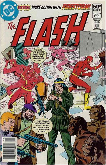 Flash (1959) 294-A by DC
