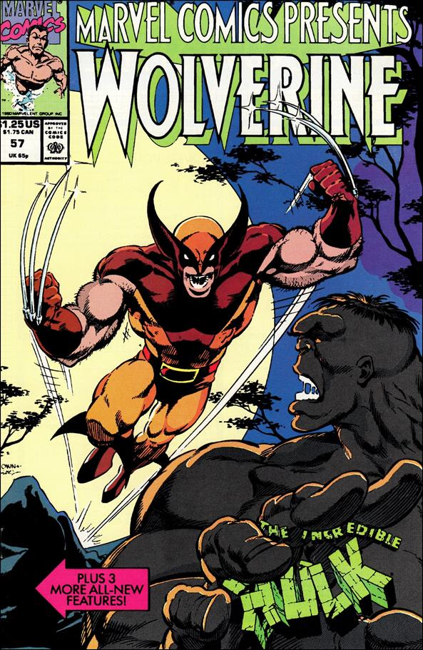 Marvel Comics Presents (1988) 57-A by Marvel