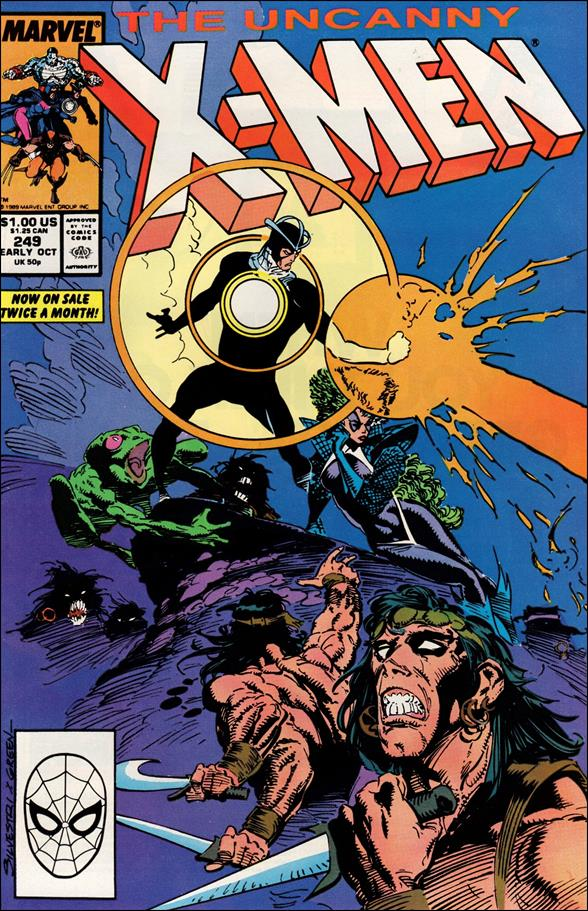 Uncanny X-Men (1981) 249-A by Marvel