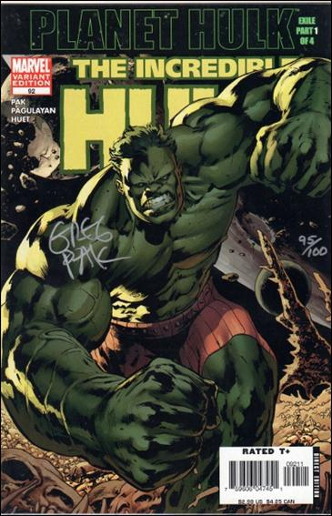 Incredible Hulk (2000)  92-C by Marvel