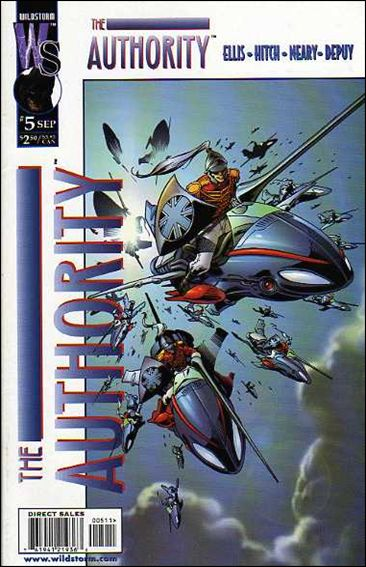 Authority (1999) 5-A by WildStorm