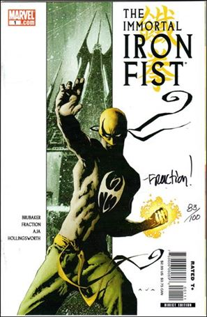 Immortal Iron Fist 1-D