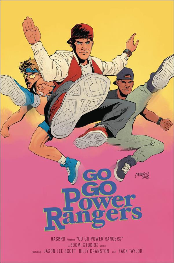 Saban's Go Go Power Rangers 18-D by Boom! Studios