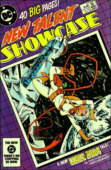 New Talent Showcase (1984) 8-A by DC