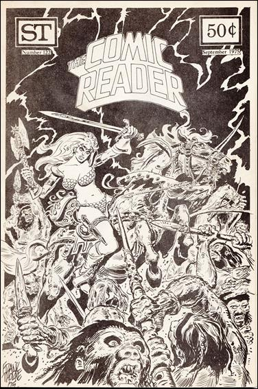 Comic Reader 122-A by Street Enterprises