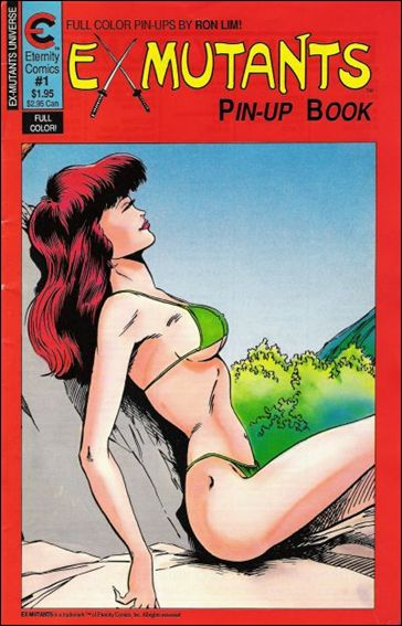 Ex-Mutants Pin-Up Book 1-A by Eternity