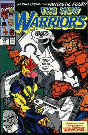 New Warriors (1990) 17-A