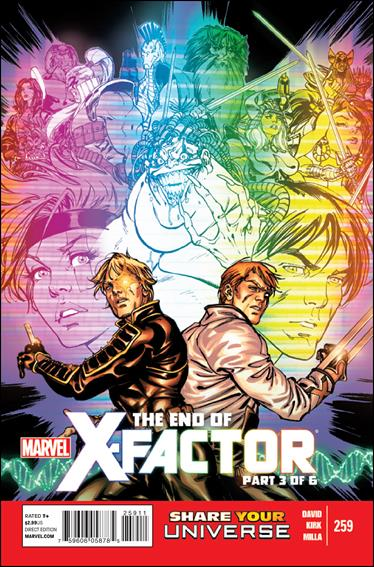 X-Factor (1986) 259-A by Marvel