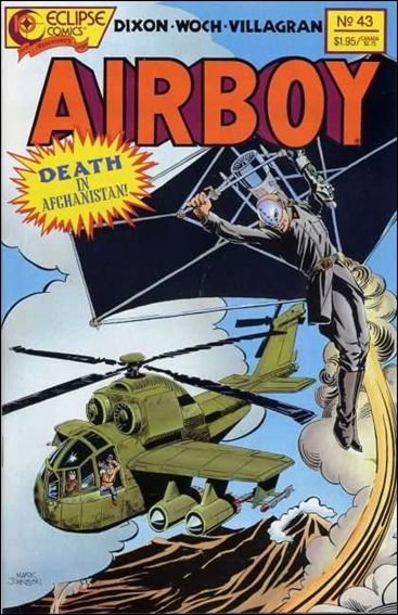 Airboy (1986) 43-A by Eclipse