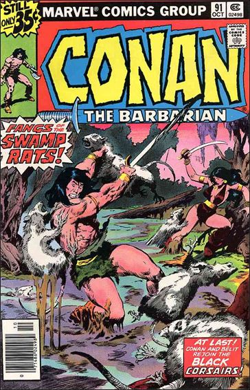 Conan the Barbarian (1970) 91-A by Marvel