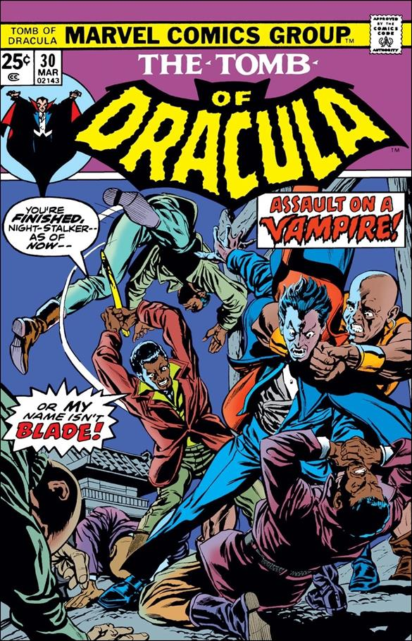 Tomb of Dracula (1972) 30-A by Marvel