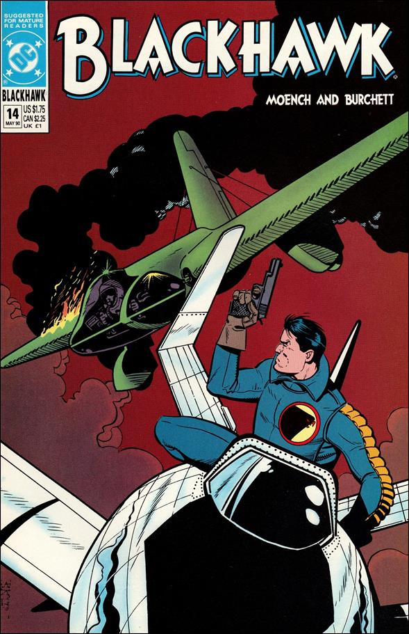 Blackhawk (1989)  14-A by DC