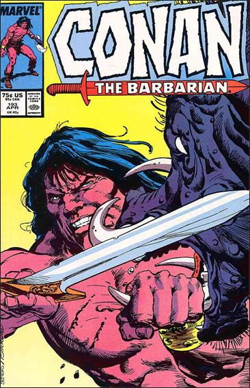 Conan the Barbarian (1970) 193-A by Marvel