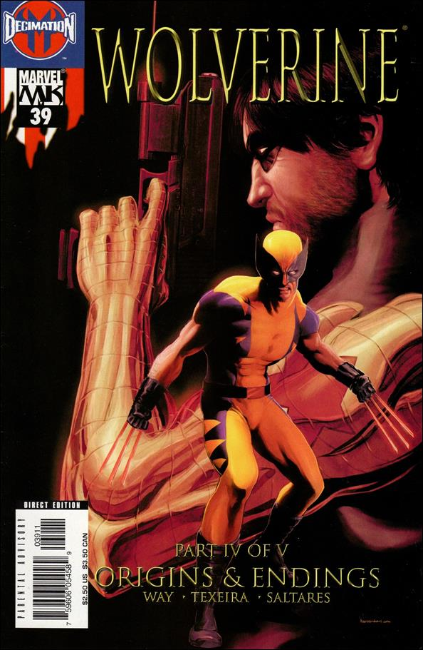Wolverine (2003)  39-A by Marvel