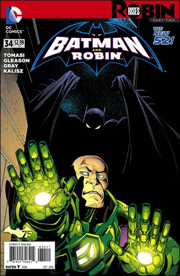 Batman and Robin (2011) 34-A by DC