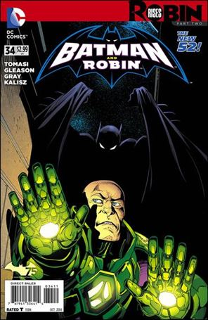 Batman and Robin (2011) 34-A