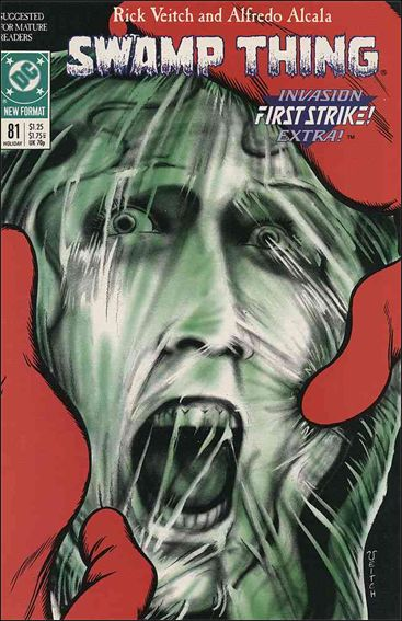 Swamp Thing (1986) 81-A by Vertigo