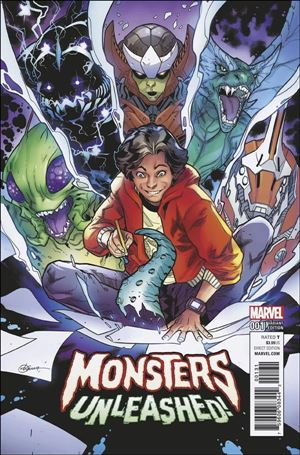 Monsters Unleashed  1-D