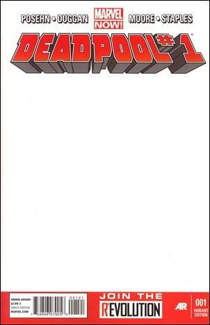 Deadpool (2013) 1-E by Marvel