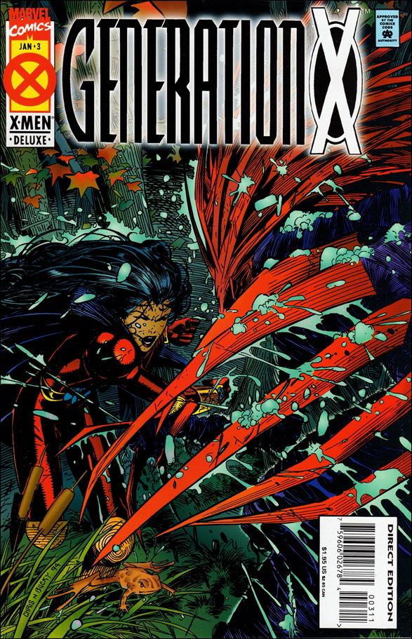 Generation X (1994) 3-A by Marvel