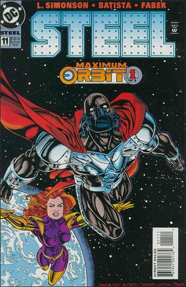 Steel (1994) 11-A by DC