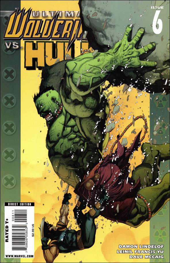 Ultimate Wolverine vs Hulk 6-A by Marvel