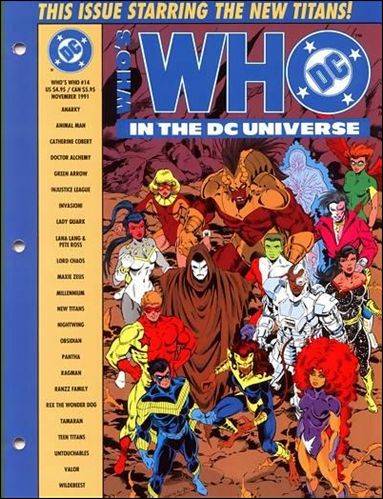 Who's Who In the DC Universe 14-A by DC