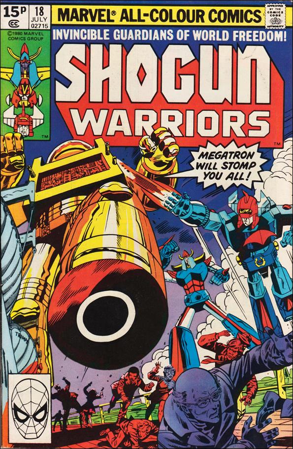 Shogun Warriors 18-B by Marvel
