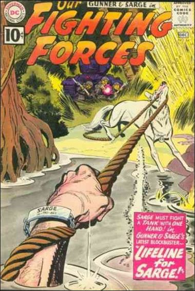 Our Fighting Forces (1954) 64-A by DC