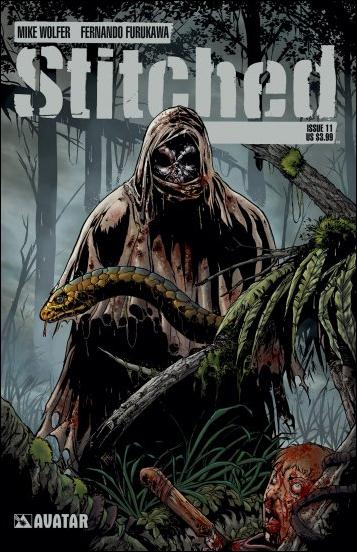 Stitched 11-A by Avatar Press