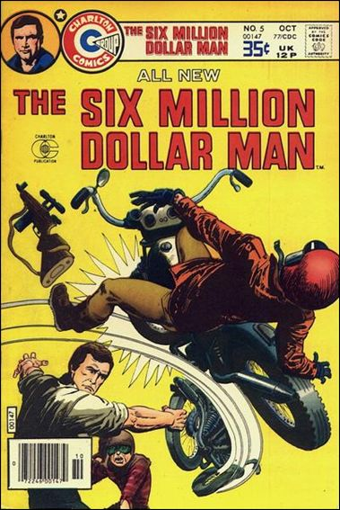 Six Million Dollar Man (1976/06) 5-A by Charlton