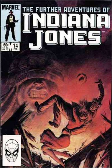 Further Adventures of Indiana Jones 14-A by Marvel