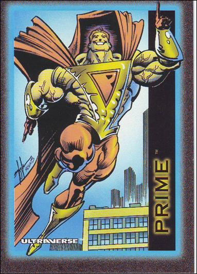 Ultraverse: Series 1 (Base Set) 25-A by SkyBox
