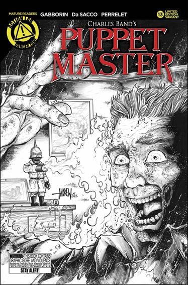 Puppet Master (2015) 13-C by Action Lab: Danger Zone