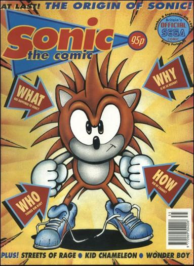 Sonic the Comic 8-A by Fleetway