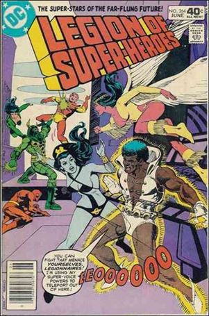 Legion of Super-Heroes (1980) 264-A